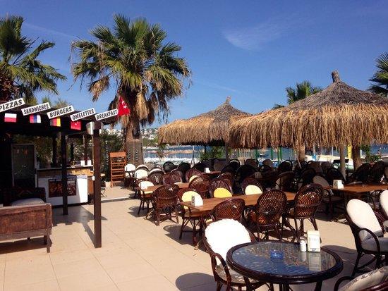 Bitez Han beach bar and resteraunt: Restaurant