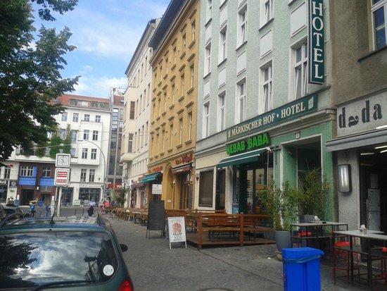 Hotel Berlin Markischer Hof am Tacheles : Frontansicht