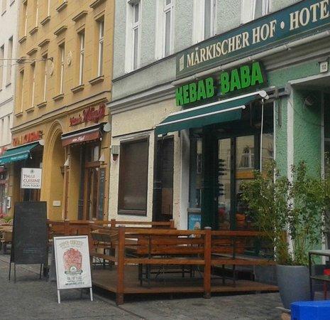 Hotel Berlin Markischer Hof am Tacheles : Aktuelle Frontansicht