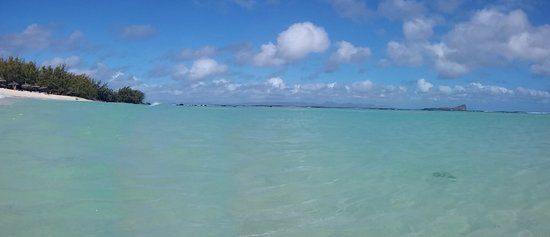 Ilot Gabriel Beach : panorama