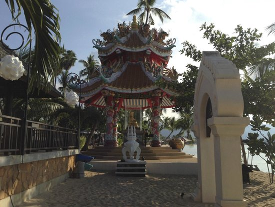 Fair House Villas & Spa : der Haustempel