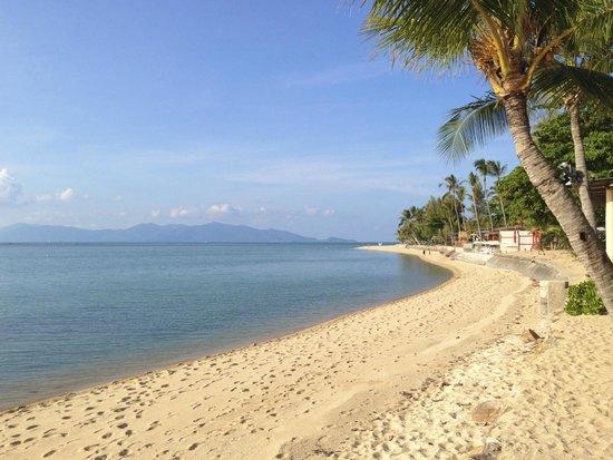 Fair House Villas & Spa: der wunderschöne Strand