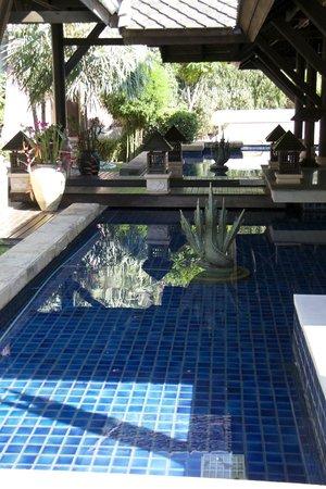 Fair House Villas & Spa: an der Rezeption