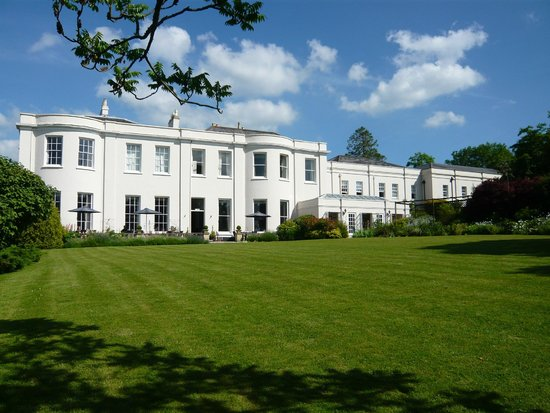 The Mount Somerset Hotel: The hotel from the garden