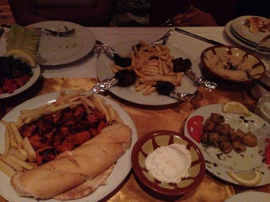 The Irish Village : Lebanese meal