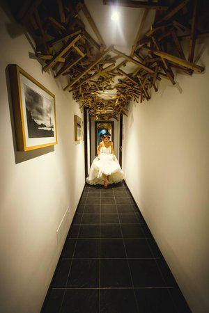 Hotel 104 Art Suites: la novia!