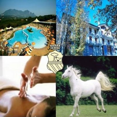 Royal Hotel Montevergine: Village convenzionato, hotel, massaggi, passeggiata a cavallo