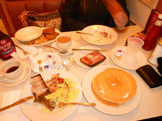 Hotel Edison Times Square: Breakfast in Cafeteria