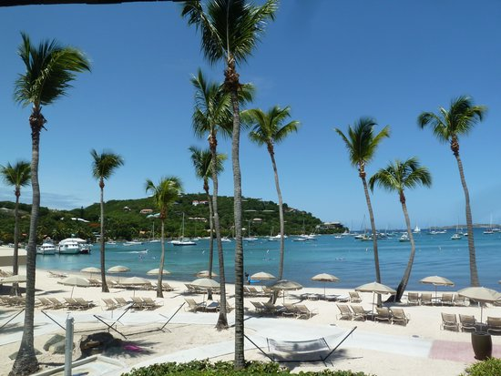 The Westin St. John Resort Villas : View from the balcony of room 1021
