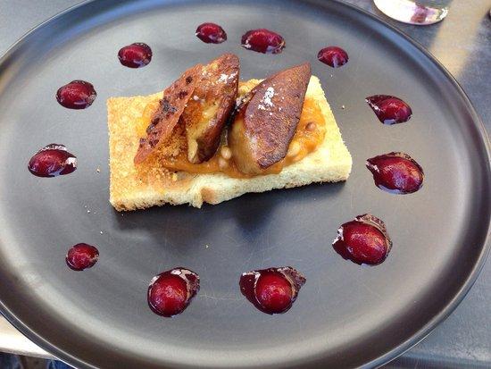 Au P'tit Ju : Foie frais et abricots