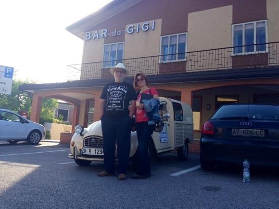 Hotel da Gigi: Mutlu bir sabah