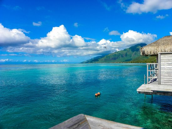 InterContinental Resort & Spa Moorea : Day view from room