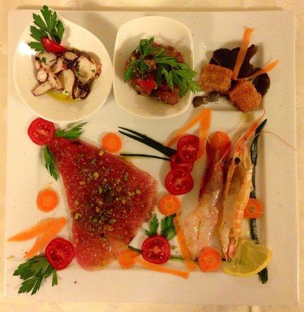 Ristorante Da Ercole : The freshest most exquisite raw fish!