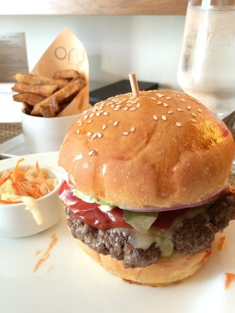 Fairmont Pacific Rim: The ORU burger
