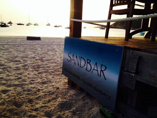 SandBar : Right on the beach :)
