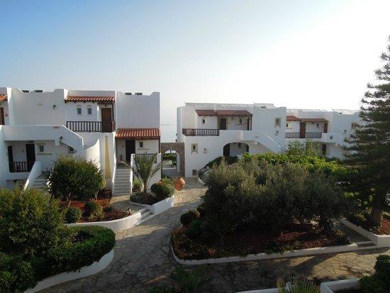 Alexander Beach Hotel & Village: вид из номера Сьют