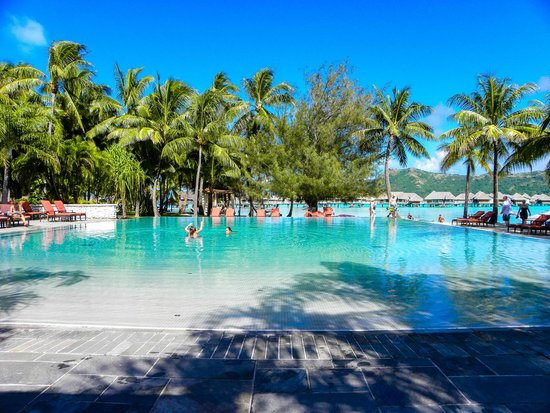 InterContinental Bora Bora Resort & Thalasso Spa : Pool