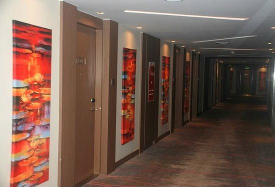 Novotel Ahmedabad: Corridor ...Carpeted and nice
