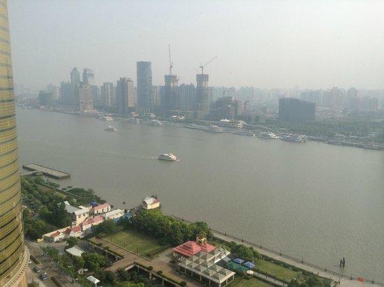Pudong Shangri-La, East Shanghai: Daytime view