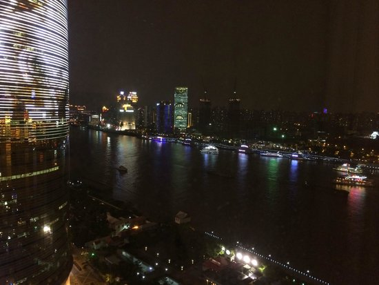 Pudong Shangri-La, East Shanghai: Night view