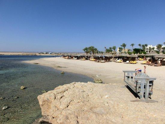 Port Ghalib Resort : Spiaggia