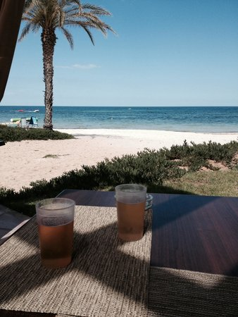 SENSIMAR Scheherazade: View from beach bar