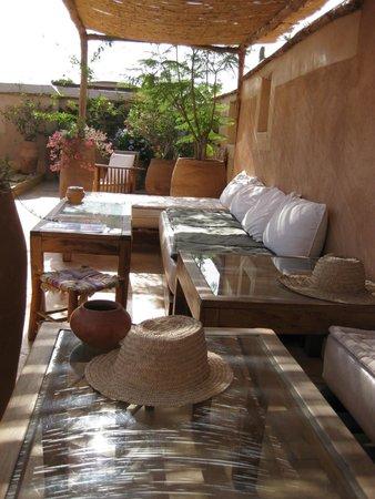 Musée Boucharouite : Superbe terrasse