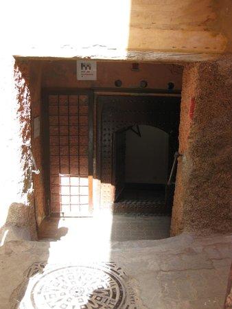 Musée Boucharouite : Entrée du musée (faut la trouver)