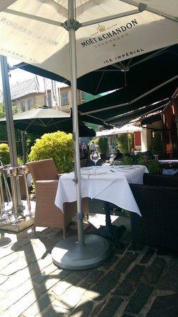 Kampa Park Restaurant : Location