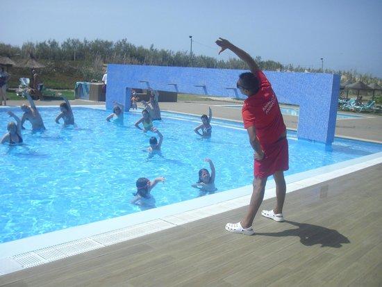 Vila Baleira Porto Santo: Animação na piscina
