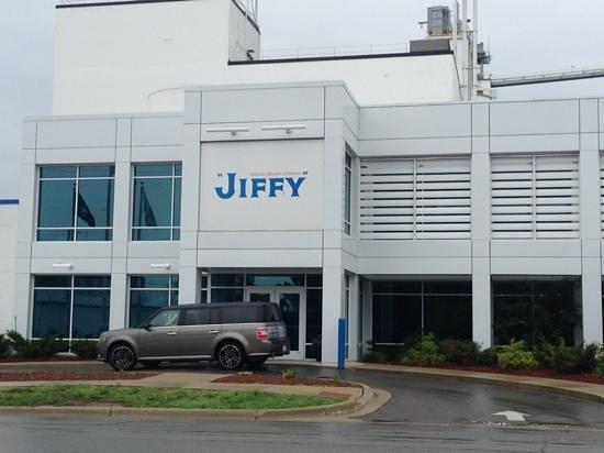 Jiffy Mix Company: Main entrance, also the visitor entrance