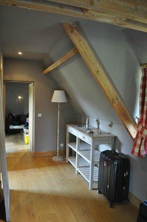 Auberge de la Source - Hôtel de Charme : living area in our suite