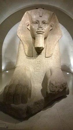 Louvre Museum: côté Egypte