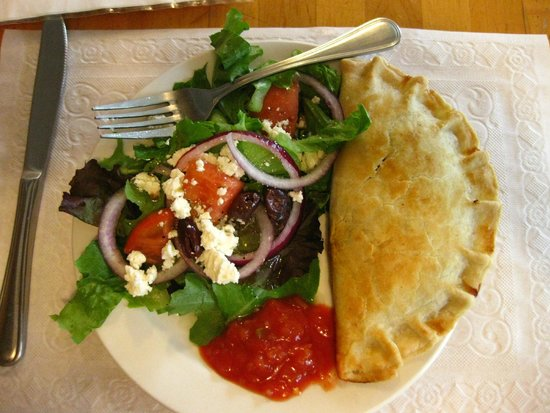 Rainbow Sweets : Empanada & salad