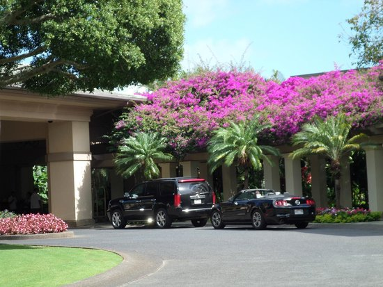 The Ritz-Carlton, Kapalua: Valet/Entrance