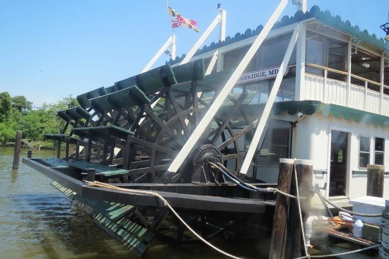 Suicide Bridge Restaurant: Choptank Riverboat