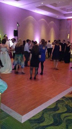 Bethesda North Marriott Hotel & Conference Center : Ballroom dance floor