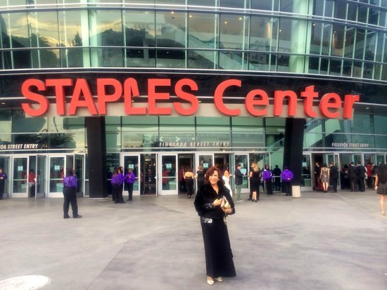 Staples Center: Grammy season 2014 in LA, Stamples Center for the Awards