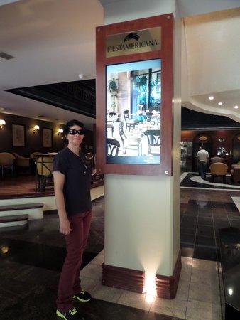 Krystal Monterrey: Mural de apresentação do Hotel