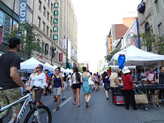 Rue Ste.-Catherine : rue sainte Catherine