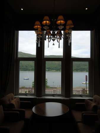 Cruachan Hotel: View from Hotel Lobby
