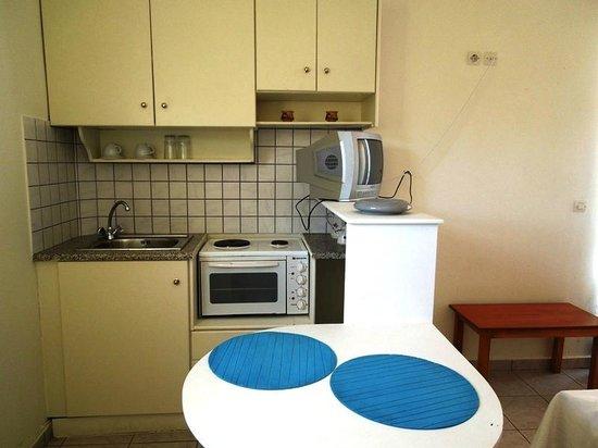 Locanda Hotel : Кухонный уголок