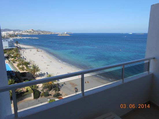 The New Algarb Hotel: View from room 614
