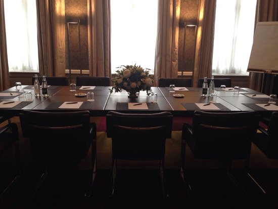 Hotel Dukes' Palace Bruges: Sala riunioni