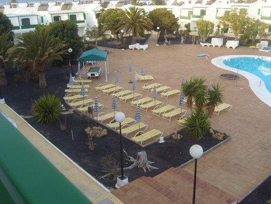 Lanzarote Palm: New Sunloungers