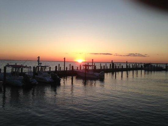Flynn's Fire Island: Flynn's at Sunset