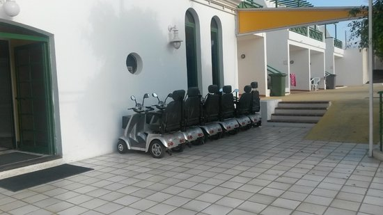 Lanzarote Palm: Mobility Scooters