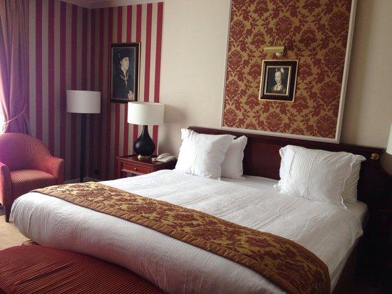 Hotel Dukes' Palace Bruges : La mia camera