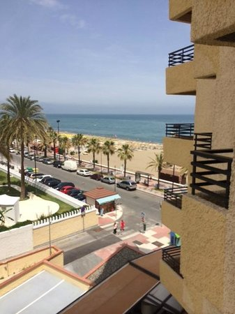 Melia Costa del Sol: view from room on 4th floor