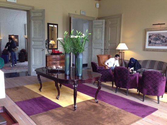 Hotel Dukes' Palace Bruges : Salone
